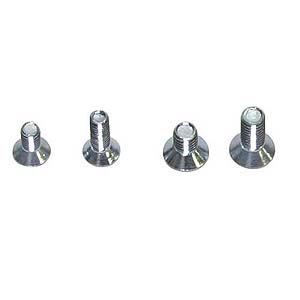 6X10Mm Flathead Screw 50Pk