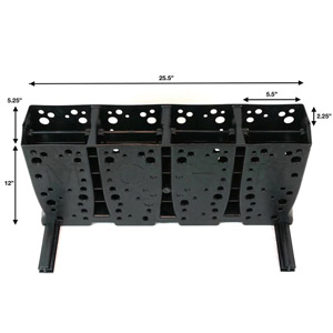 Mohn Wide Rack/4Pr 140mm Wide