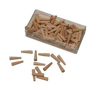 Wooden Hole Plugs 100Pk