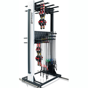 Universal Plus Rack with Pole Storage